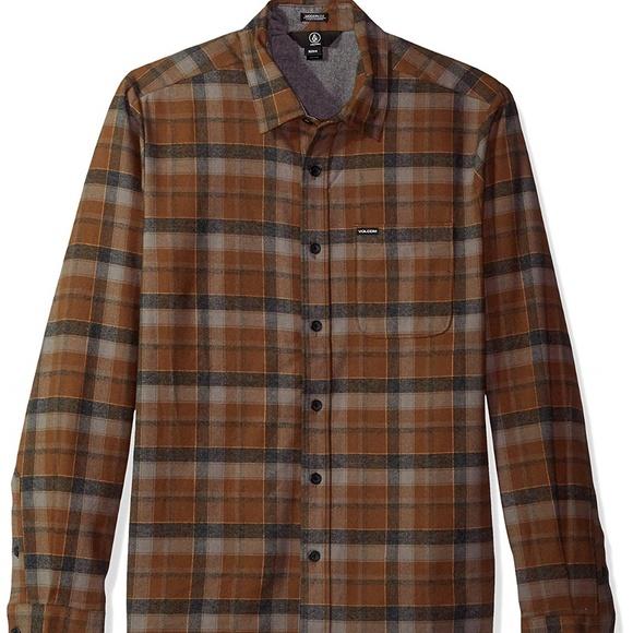 d35ffea8a Volcom Shirts | Caden Classic Longsleeve Flannel | Poshmark